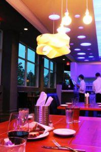 The main dining room at G2B Gastro Pub