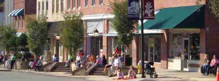 Downtown Wendell, North Carolina