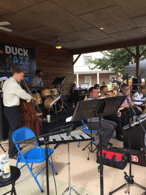 Performing Ducky Wucky at the Duck Jazz Festival!
